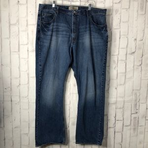 Wrangler Jeans Co Relaxed Boot Jeans Sz 42